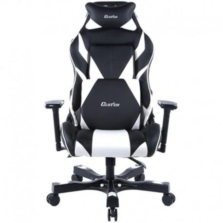 Fotel gamingowy Gear Series Bravo Czarno-Biały