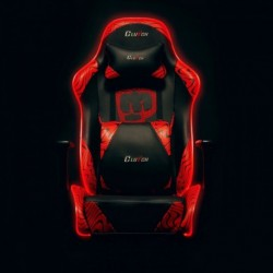 Fotel gamingowy Pewdiepie LED - Throttle Series