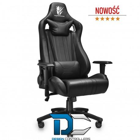 Fotel dla gracza krzesło gamingowe REVOLT BLACK - Warrior chair