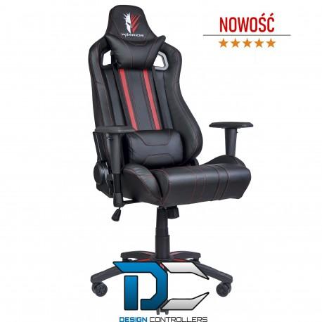 Fotel dla gracza krzesło gamingowe REVOLT RED - Warrior chair
