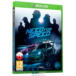 XBOX One Gra NEED FOR SPEED