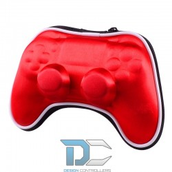 PlayStation 4 / PRO / Slim etui na kontroler Red