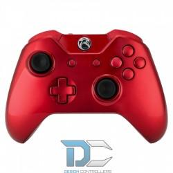 Xbox One obudowa do kontrolera Glossy Red Nowa Wersja