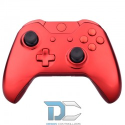 XBOX One obudowa do kontrolera Chrome Red
