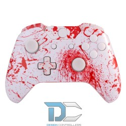 XBOX One obudowa do kontrolera Splashed Red