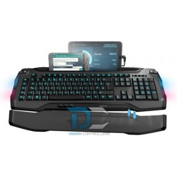 Klawiatura Roccat Skeltr Grey Smart Communication RGB Gaming Keyboard
