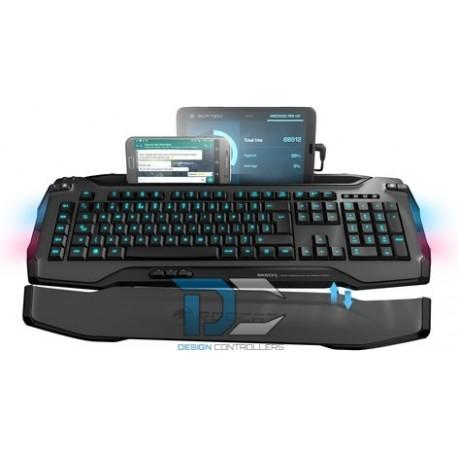 Klawiatura Roccat Skeltr Grey Smart Communication RGB Gaming Keyboard