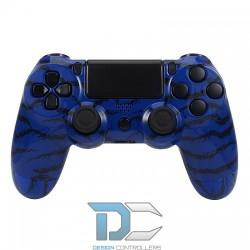 PlayStation 4 obudowa do kontrolera Blue Tiger