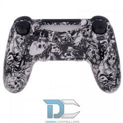 PlayStation 4 obudowa do kontrolera White Skull