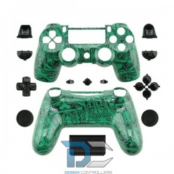 PlayStation 4 obudowa do kontrolera Green Circuit