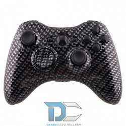 XBOX 360 obudowa do kontrolera Carbon Fibre