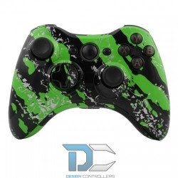 XBOX 360 obudowa do kontrolera Army Camo Green