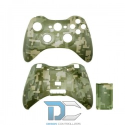 XBOX 360 obudowa do kontrolera Pixel Green