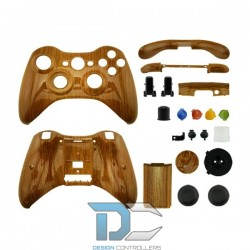 XBOX 360 obudowa do kontrolera Wood Grain