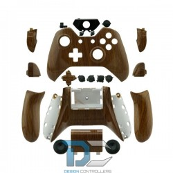 XBOX One obudowa do kontrolera Wood Grain