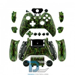 XBOX One obudowa do kontrolera Army Moro Camo