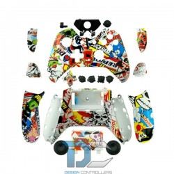 XBOX One obudowa do kontrolera Sticker Bomb