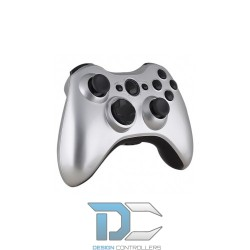 XBOX 360 obudowa do kontrolera Glossy Gold - Silver