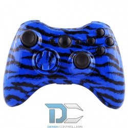 XBOX 360 obudowa do kontrolera Chrome Silver