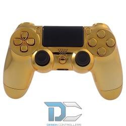 PlayStation 4 chromowa obudowa do kontrolera Chrome Gold