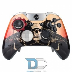 XBOX One Elite obudowa do kontrolera Front Gears of War Scarlet