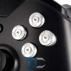 XBOX One Aluminiowe przyciski do kontrolera Silver