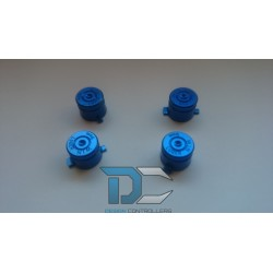 PlayStation 4 / PlayStation 3 Aluminiowe przyciski do pada Blue