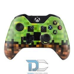 XBOX One obudowa do kontrolera Front Minecraft Edition