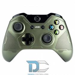 XBOX One obudowa do kontrolera Front Green Military Uniform