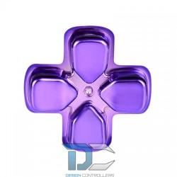 PlayStation 4 zamiennik d-pad krzyżak Chrome Violet