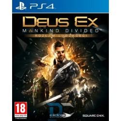 Sony PlayStation 4 GRA DEUS EX ROZŁAM LUDZKOŚCI D1 PL