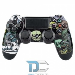 PlayStation 4 obudowa do kontrolera Skull Heads