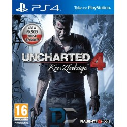 PlayStation 4 GRA Uncharted 4 Kres Złodzieja