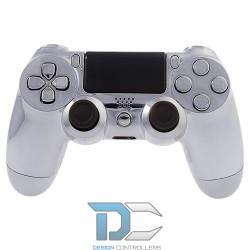 PlayStation 4 chromowa obudowa do kontrolera Silver
