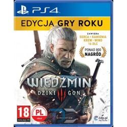 WIEDŹMIN 3 EDYCJA GRY ROKU GOTY (PS4)