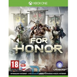 FOR HONOR POL CZE HUN SLK (XBOX ONE)