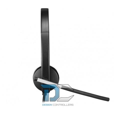 Słuchawki z mikrofonem Logitech USB Headset H650e Mono