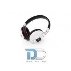 Słuchawki Verbatim nauszne bluetooth + mikrofon białe