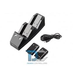 XBOX 360 STACJA DOKUJĄCA NATEC GENESIS A14 USB CHARGER XBOX 360 (BATERIE W ZESTAWIE)