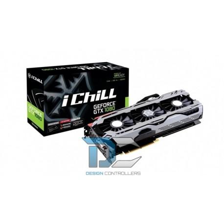 GeForce GTX 1080 iChill X4 8GB GDDR5X 1898/10400 (3xDP HDMI DVI)