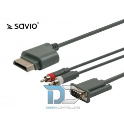Kabel VGA do Xbox 360 SAVIO 1,8m CL-78