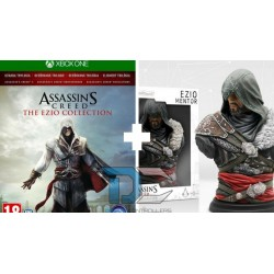 XBOX One Gra Assassins Creed THE EZIO COLLECTION+ figurka EZIO MENTOR Assassins