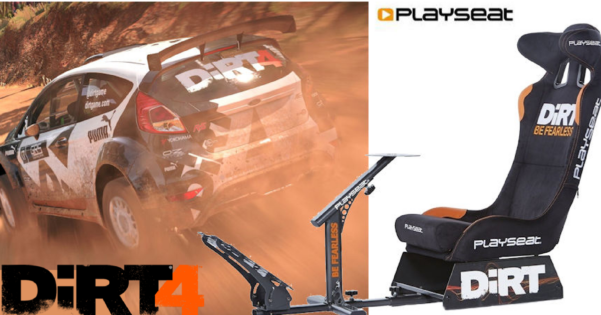 Fotel Playseat Dirt